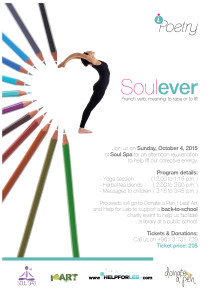 Soulever Charity Event Oct. 4, 2015
